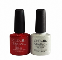 CND Shellac - Ruby Ritz & Ice Vapor Duo